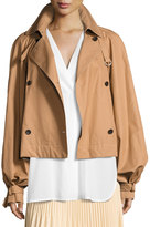 Elizabeth and James Eleta Double-Breasted Trench Jacket