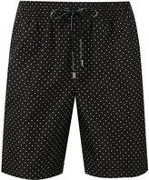 Dolce & Gabbana polka dot swim shorts