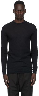Rick Owens Black Biker Level Sweater