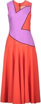 Roksanda Talma two-tone cady midi dress