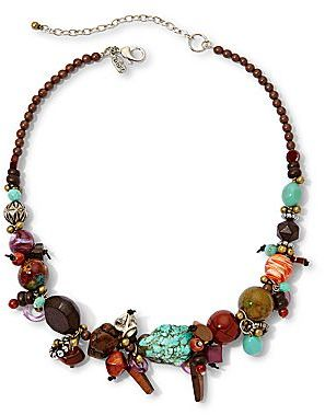 JCPenney Aris by Treska Multicolor Chunky Bead Necklace