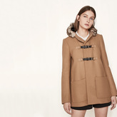 Maje Wool A-line coat