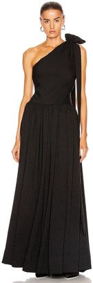 STAUD Sarah Dress in Black | FWRD