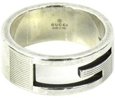 Gucci 925 Sterling Silver G Ring Size 7.25