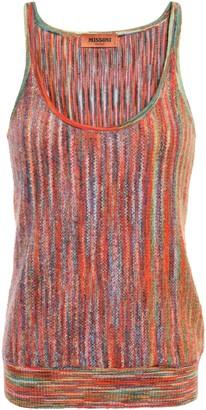 Missoni Boucle-knit Wool-blend Tank