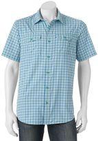 Columbia Big & Tall Glen Meadows Gingham Button-Down Shirt