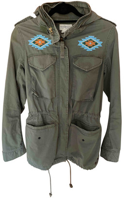 Denim & Supply Ralph Lauren Green Glitter Jackets