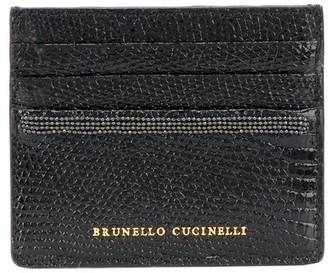 Brunello Cucinelli Ball-Chain Detail Cardholder