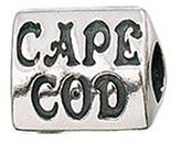 Zable Cape Cod Travel Sterling Silver Charm
