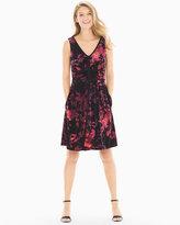 Soma Intimates Velvet Sleeveless Short Dress