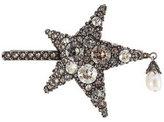 Alexander McQueen Crystal Eye Moon Brooch