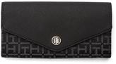 Tommy Hilfiger Monogram Jaquard Large Wallet