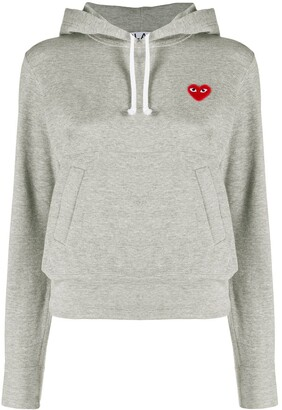 Comme des Garcons Logo Heart Hoodie