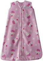 Halo Sleepsack Micro-Fleece Wearable Blanket, Pink Cupcake, X-Large
