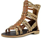 Very Volatile Cassi Open Toe Synthetic Gladiator Sandal.