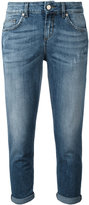 L'Autre Chose cropped turn up jeans - women - Cotton/Polyester/Spandex/Elastane - 27