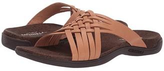 Merrell District Mahana Slide (Natural Tan) Women's Shoes