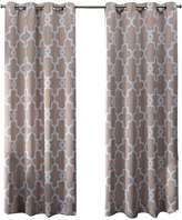Ironwork Blackout Grommet Top Window Curtain Panel