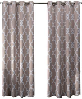 Home Outfitters Ironwork Blackout Grommet Top Window Curtain Panel