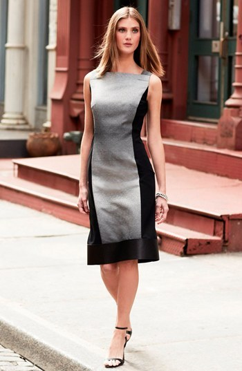 Lafayette 148 New York 'Penny - Saturnine Cloth' Dress
