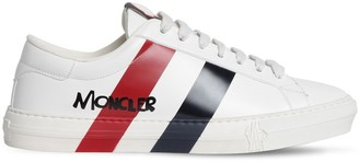 Moncler Montpellier Leather Sneakers