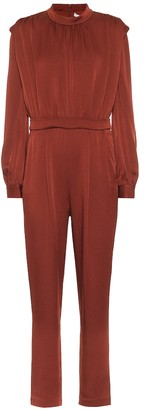 Veronica Beard Kavia satin crepe jumpsuit