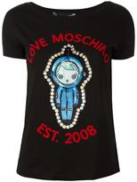 Love Moschino space T-shirt