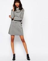 Monki Mini A-Line Skirt