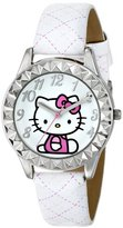 Hello Kitty Kids' HKAQ2800 White Watch