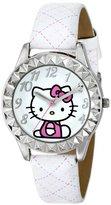 Hello Kitty Kids' HKAQ2800 White Watch