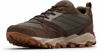 Columbia Men's IVO Trail Walking Shoe Brown (Peatmoss Rich Wine 213) 10 (44 EU)