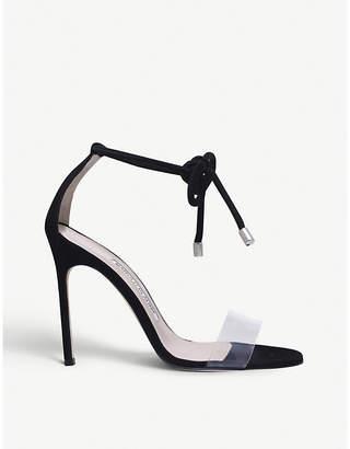 Manolo Blahnik Estro suede heeled sandals