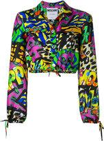 Moschino multi print blouse
