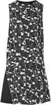 Proenza Schouler Printed silk-georgette mini dress