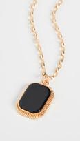 Maison Irem Onyx Long Necklace