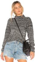 Callahan Melange Hi Low Sweater