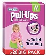 Huggies Medium Pull-Ups Girl Economy 26 per pack - Pack of 2