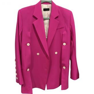 Eudon Choi Pink Wool Jackets