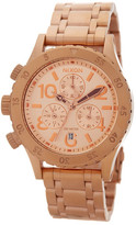 Nixon Women's 38-20 Chrono Bracelet Watch