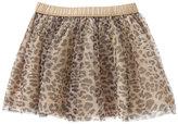 Gymboree Tan & Black Leopard Tutu Skirt - Infant & Toddler