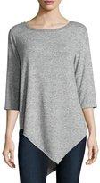 Joie Tammy 3/4-Sleeve Sweater , Heather Gray