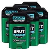 Brut Anti-Perspirant Plus Deodorant, Blue Wave, 2 Ounce (Pack of 6)