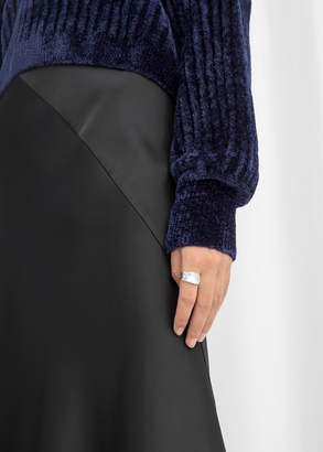 And other stories Satin Midi Skirt