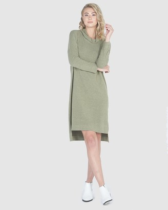 Privilege Slouch Cowl Neck Dress