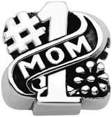 Persona Sterling Silver Mom Charm fits Pandora, Troll & Chamilia European Charm Bracelets