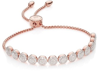 Monica Vinader Fiji Mini Button Chain bracelet