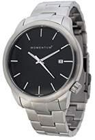 Momentum Women's 1M-SP11B0 LOGIC SS Analog Display Japanese Quartz Silver Watch