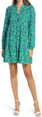 Lilly Pulitzer Winona Long Sleeve Swing Dress