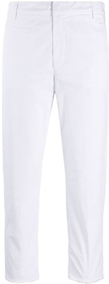 Dondup Cropped Fitted Trousers