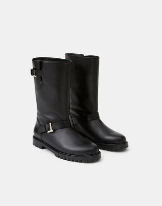 Lafayette 148 New York Leather Jordan Icon Boot